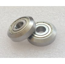 Track Rollers RE702 ZZ/2RS BHJ-25-C Journal Bearing
